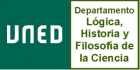 UNED Departamento Lógica, Historia y Filosofía de la Ciencia
