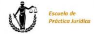 Escuela de Práctica Jurídica - UNED